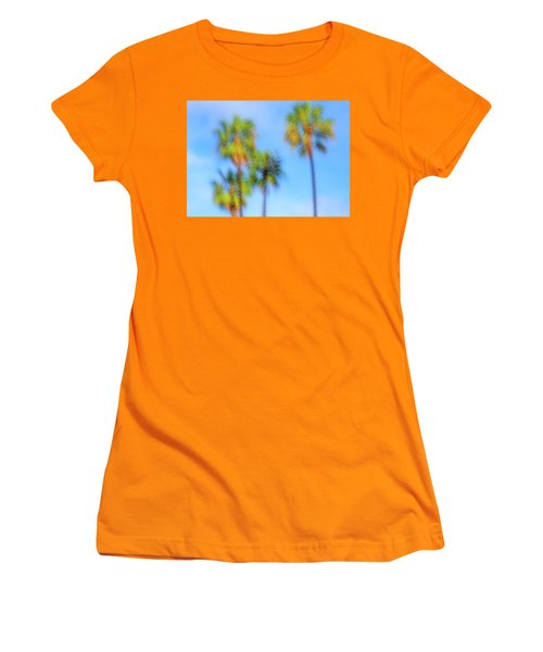 Family Of Four Women's T-Shirt (Athletic Fit)