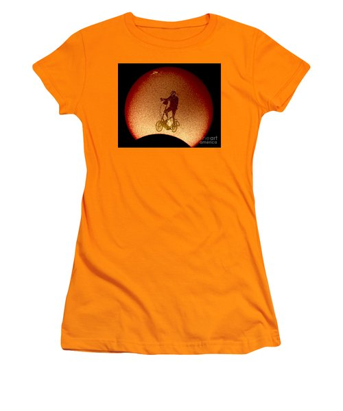 Feel The Burn, Elliptigo Eclipse Women's T-Shirt (Athletic Fit)