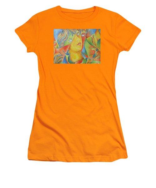 Femme Aux Trois Visages Women's T-Shirt (Athletic Fit)