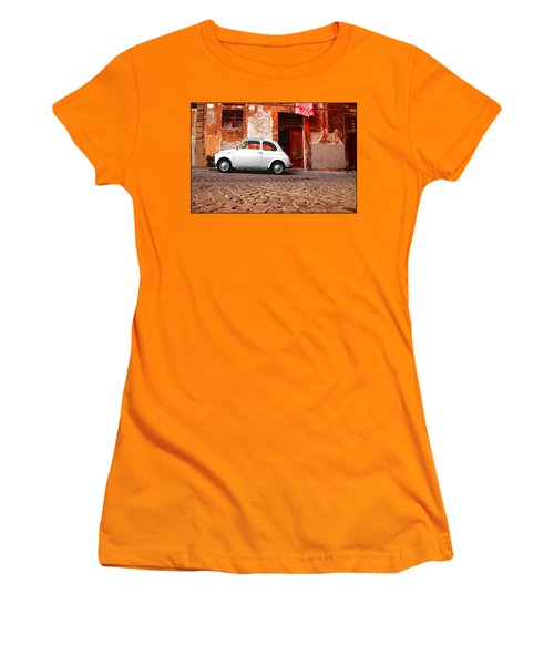 Fiat 500 Women's T-Shirt (Athletic Fit)