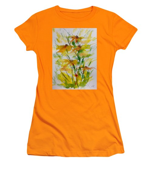 Field Bouquet Women's T-Shirt (Athletic Fit)
