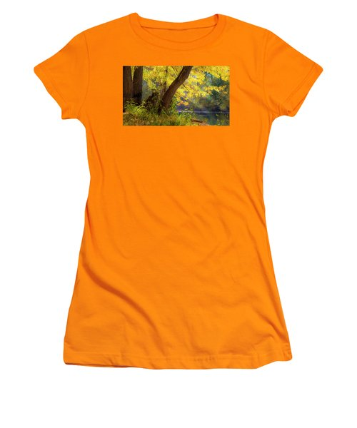 Filtered Light 2 Women's T-Shirt (Athletic Fit)
