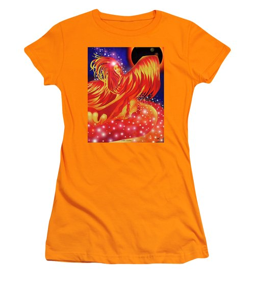 Fire Fairy Women's T-Shirt (Athletic Fit)