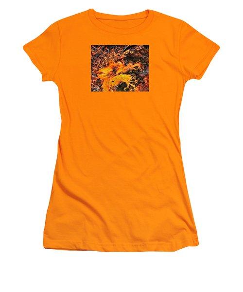 Fire Women's T-Shirt (Junior Cut) by John Bushnell