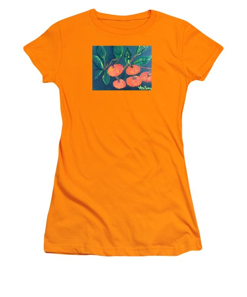 Five Tangerines Women's T-Shirt (Athletic Fit)