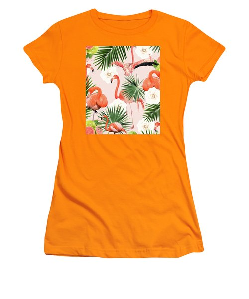 Flamingo Guava Women's T-Shirt (Athletic Fit)