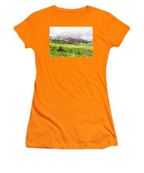 Flatirons Vista Women's T-Shirt (Athletic Fit)