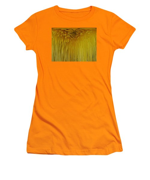 Floral Falls 5 Women's T-Shirt (Athletic Fit)