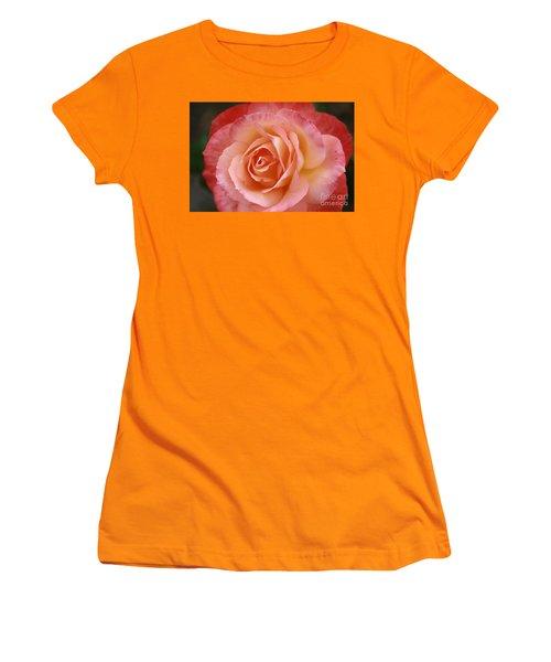 Women's T-Shirt (Junior Cut) featuring the photograph Florange by Stephen Mitchell