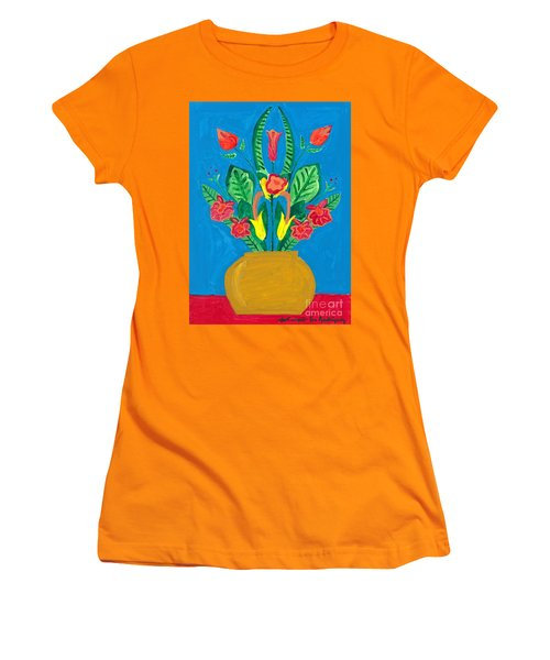 Flower Bowl Women's T-Shirt (Athletic Fit)