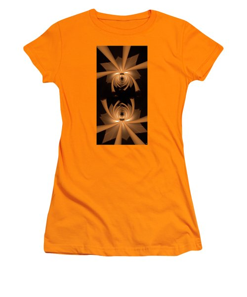 Flower Light Women's T-Shirt (Athletic Fit)