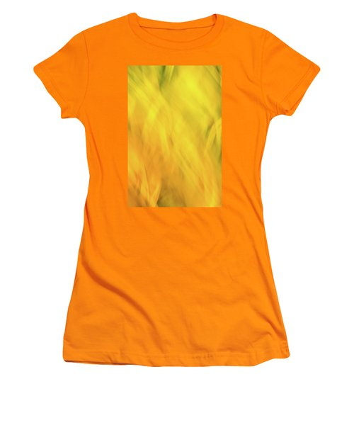 Flower Of Fire 2 Women's T-Shirt (Athletic Fit)