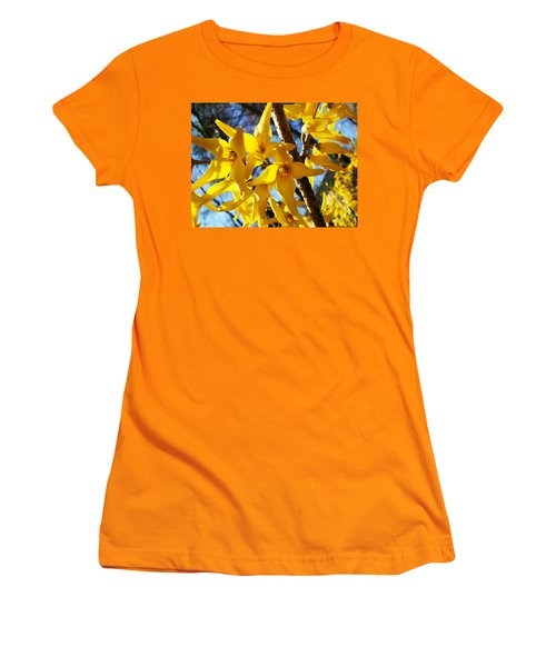 Flowers Of The Sky Women's T-Shirt (Athletic Fit)