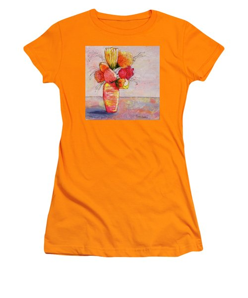Flowers Women's T-Shirt (Athletic Fit)