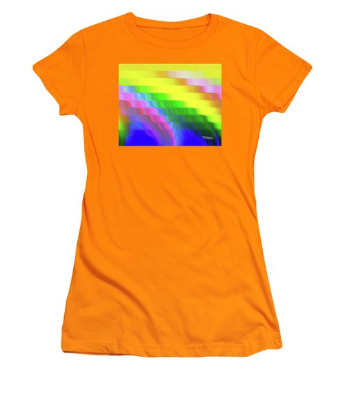 Flowing Whimsical #113 Women's T-Shirt (Junior Cut) by Barbara Tristan
