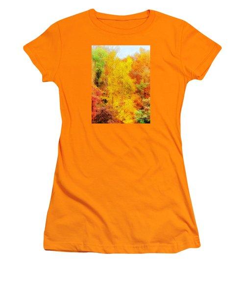 Forest Fire Women's T-Shirt (Junior Cut) by Craig Walters