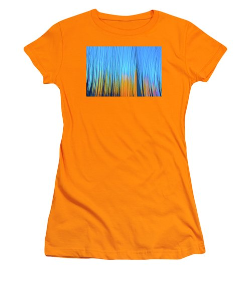 Women's T-Shirt (Junior Cut) featuring the photograph Forest Fire by Tony Beck