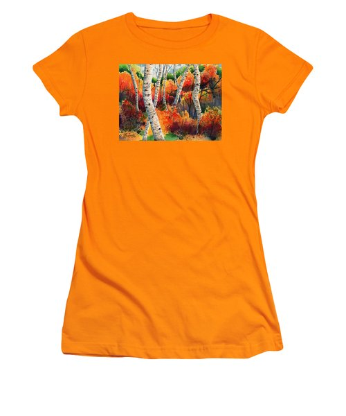 Forest In Color Women's T-Shirt (Athletic Fit)