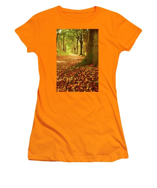 Forest Path Women's T-Shirt (Athletic Fit)
