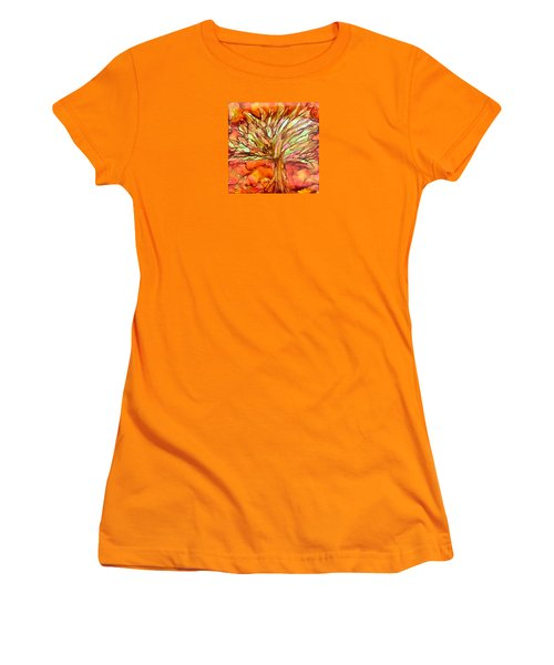 Forever Autumn Women's T-Shirt (Athletic Fit)