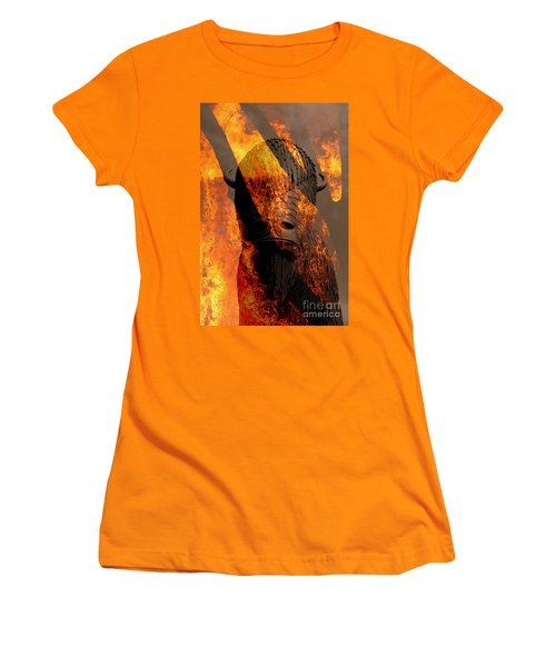 Forged In Fire Women's T-Shirt (Athletic Fit)