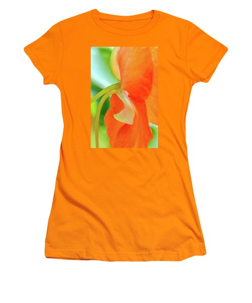 Women's T-Shirt (Junior Cut) featuring the photograph Forget Me Not by Bill Gallagher