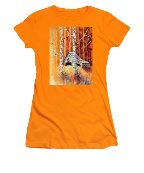 Forgotten In The Aspens Women's T-Shirt (Athletic Fit)