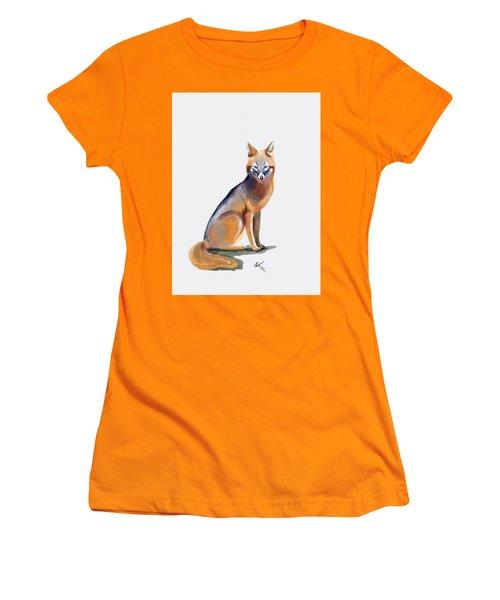 Fox Women's T-Shirt (Athletic Fit)