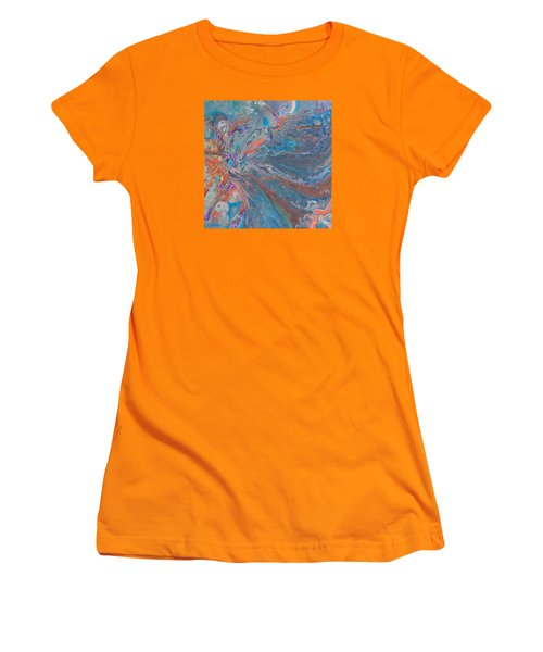 Fp Turquoise Women's T-Shirt (Athletic Fit)