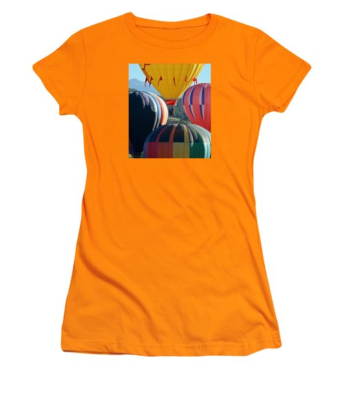 Women's T-Shirt (Junior Cut) featuring the photograph Framed by Kevin Munro