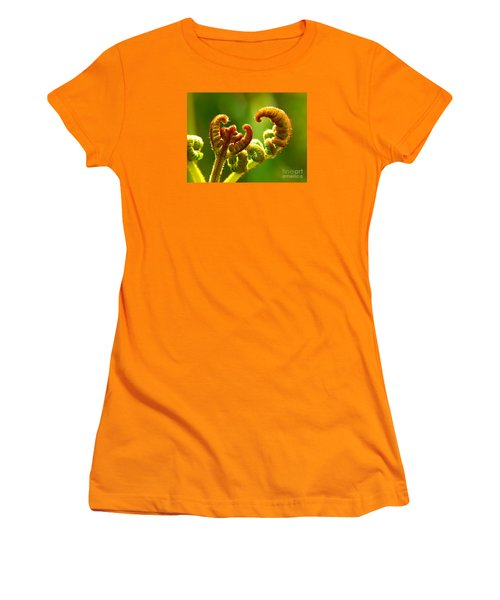 Frond Fern Women's T-Shirt (Athletic Fit)