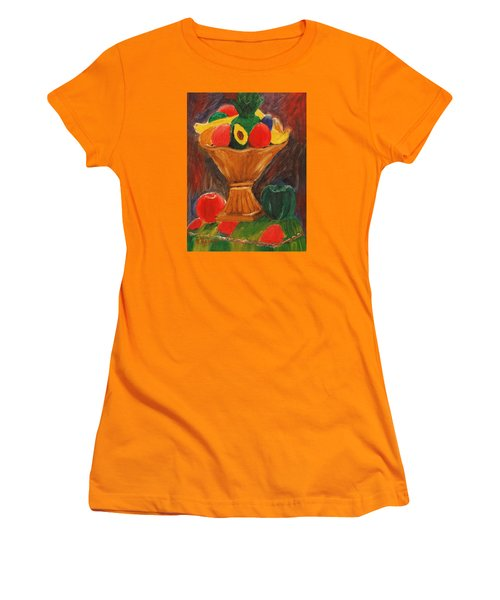 Fruits Still Life Women's T-Shirt (Athletic Fit)