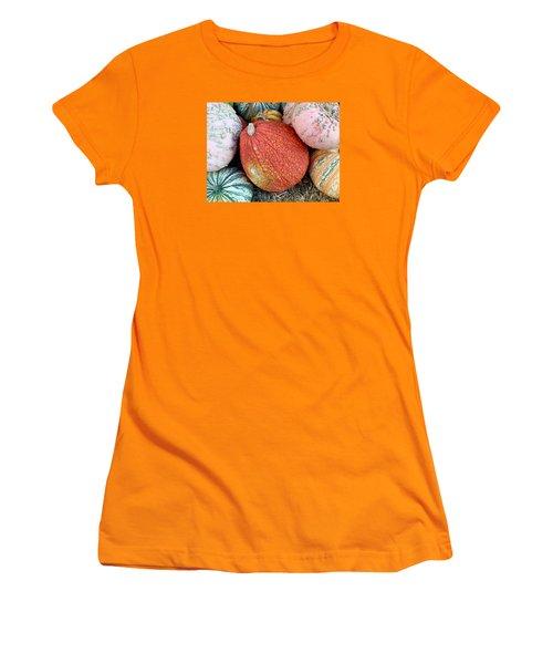 Funky Pumpkins Women's T-Shirt (Athletic Fit)