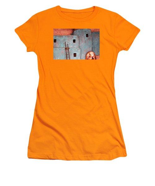 Futuristic Pueblo Women's T-Shirt (Athletic Fit)