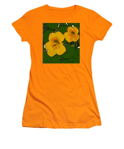 Garden Love Women's T-Shirt (Junior Cut) by Winsome Gunning