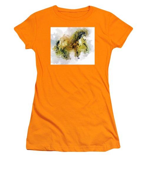 Gentle Heart Women's T-Shirt (Athletic Fit)