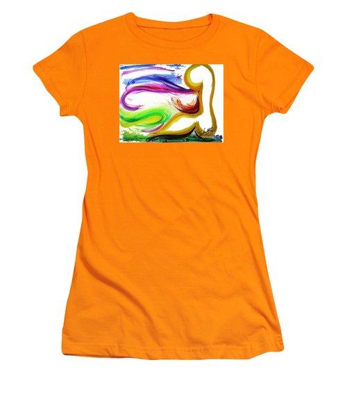 Gimel - Breathe Women's T-Shirt (Athletic Fit)