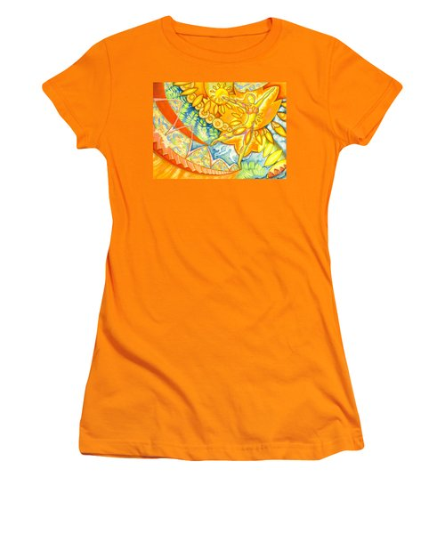 Go Confidently In The Direction Of Your Dreams Women's T-Shirt (Junior Cut) by Mark Stankiewicz