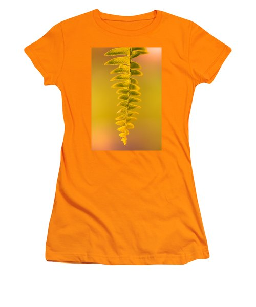 Golden Fern Women's T-Shirt (Athletic Fit)