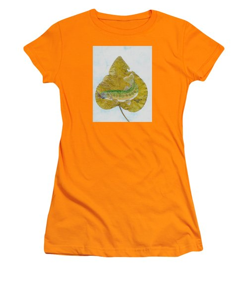 Golden Trout Women's T-Shirt (Athletic Fit)
