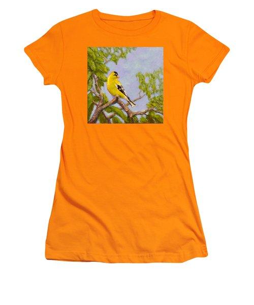 Goldfinch Women's T-Shirt (Athletic Fit)