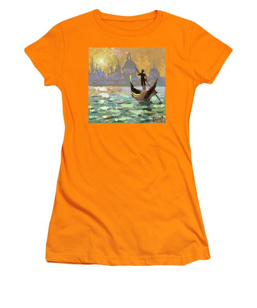 Gondolier Women's T-Shirt (Athletic Fit)