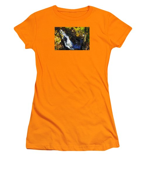 Governor Dodge State Park Women's T-Shirt (Junior Cut) by David Blank