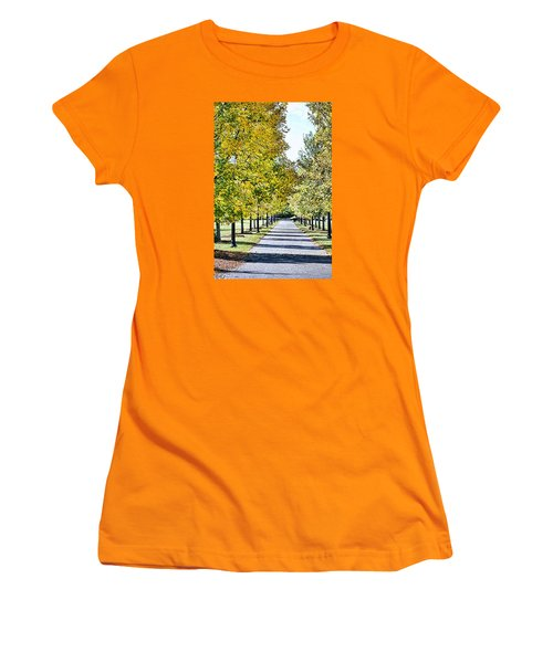 Green Bower Women's T-Shirt (Athletic Fit)