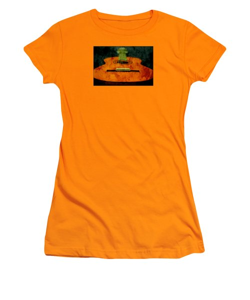 Green Face Women's T-Shirt (Athletic Fit)