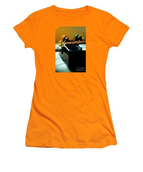 Guitar Pedal Women's T-Shirt (Athletic Fit)