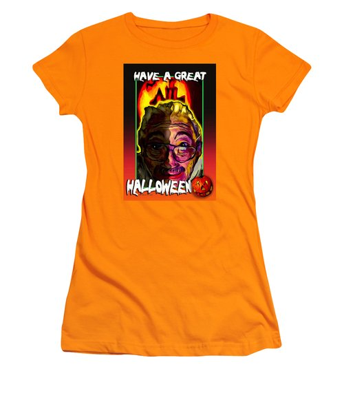 Have A Great Halloween Women's T-Shirt (Junior Cut) by Ted Azriel