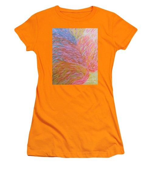 Heart Burst Women's T-Shirt (Junior Cut) by Rachel Hannah