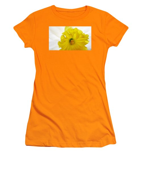 Heart Of A Daffodil  Women's T-Shirt (Athletic Fit)