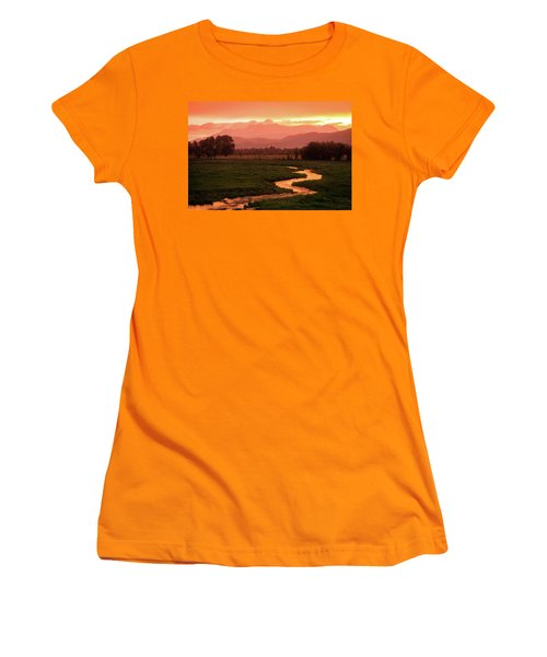 Heber Valley Golden Sunset Women's T-Shirt (Athletic Fit)